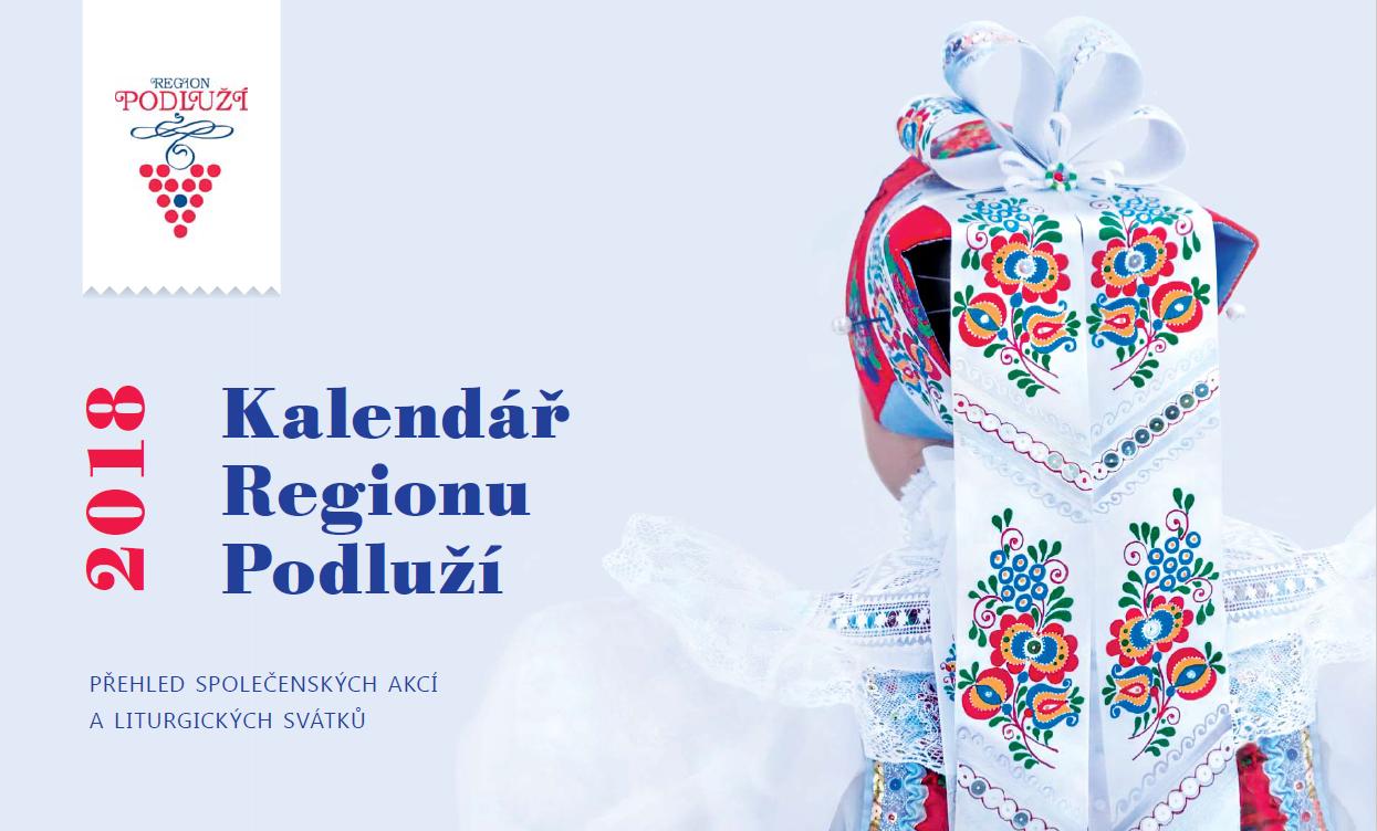 Kalendář Regionu Podluží 2018 - možnost zakoupení