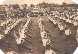 První veřejné okrskové cvičení v roce 1921 na hřišti u hřbitova