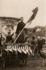 Slavnost rozvinutí sokolského praporu r. 1930