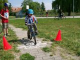BICYKLIÁDA NA HŘIŠTI U KOPCE U VRCHNICE 17. 5. 2008