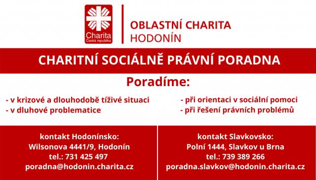 Oblastní charita Hodonín - pomoc lidem nekončí