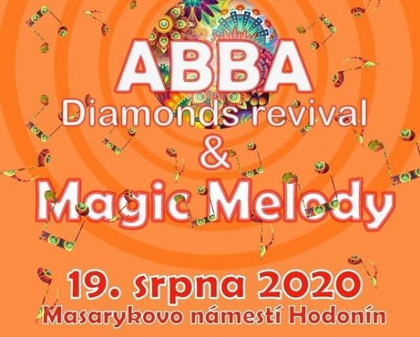 Hodonín - Abba Diamonds revival a Magic Melody