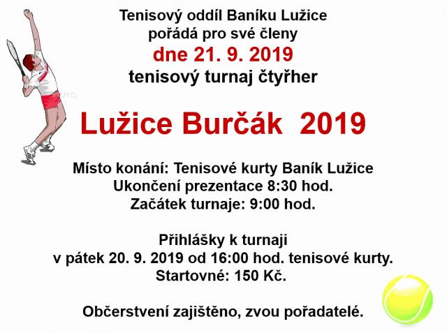 Lužice Burčák 2019