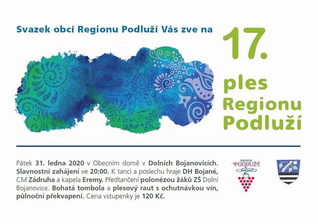 Dolní Bojanovice - Ples Regionu Podluží
