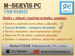 M-SERVIS PC